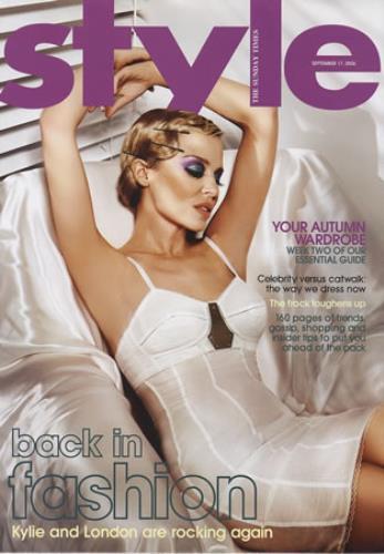 Kylie Minogue Style Magazine magazine UK KYLMAST376809