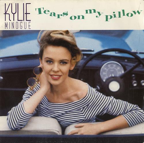 "Kylie Minogue Tears On My Pillow 7"" vinyl single (7 inch record) UK KYL07TE30602"