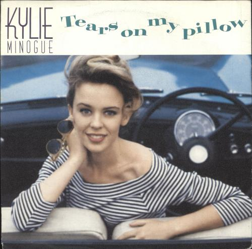 "Kylie Minogue Tears On My Pillow 7"" vinyl single (7 inch record) Dutch KYL07TE737132"