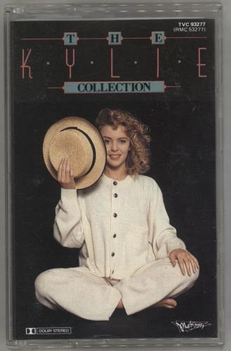 Kylie Minogue The Kylie Collection cassette album Australian KYLCLTH03026