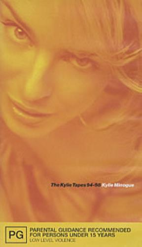 Kylie Minogue The Kylie Tapes '94-'98' video (VHS or PAL or NTSC) Australian KYLVITH117470