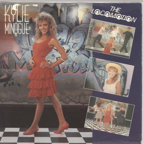 "Kylie Minogue The Locomotion 7"" vinyl single (7 inch record) Dutch KYL07TH663754"