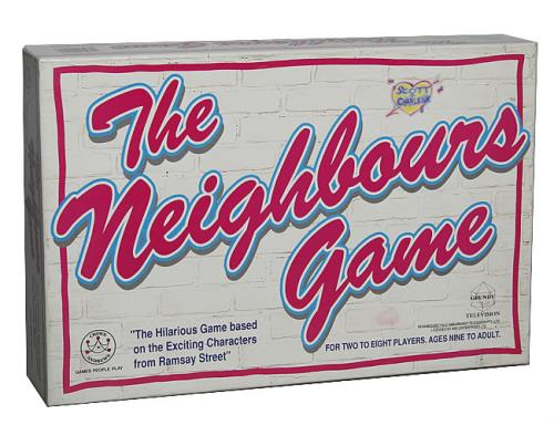 Kylie Minogue The Neighbours Game memorabilia UK KYLMMTH467747