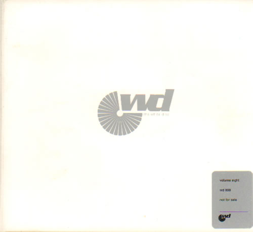 Kylie Minogue The White Disc Volume 8 CD album (CDLP) UK KYLCDTH639118