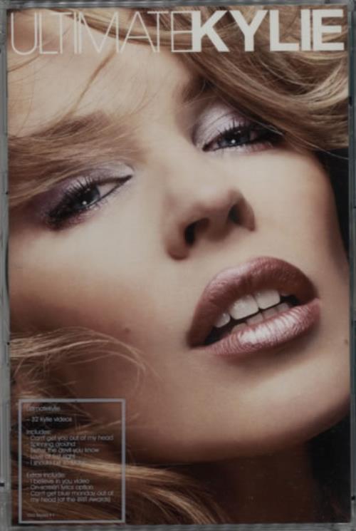 Kylie Minogue Ultimate Kylie DVD UK KYLDDUL308598