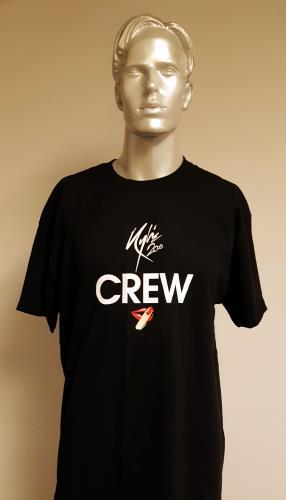 Kylie Minogue X Tour - Black/Extra large t-shirt UK KYLTSXT672370