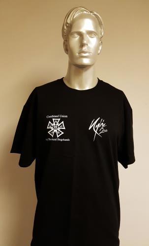 Kylie Minogue X Tour Crew - Black/Large t-shirt UK KYLTSXT672385