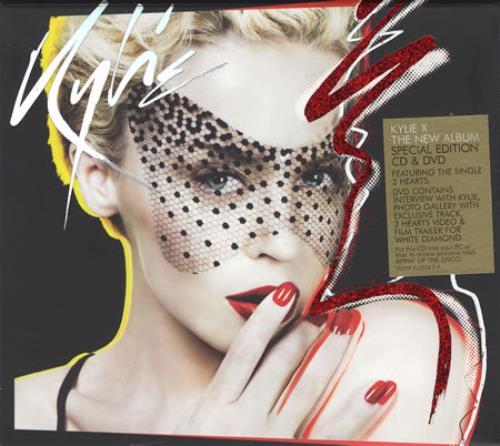 Kylie Minogue X 2-disc CD/DVD set UK KYL2DX419347