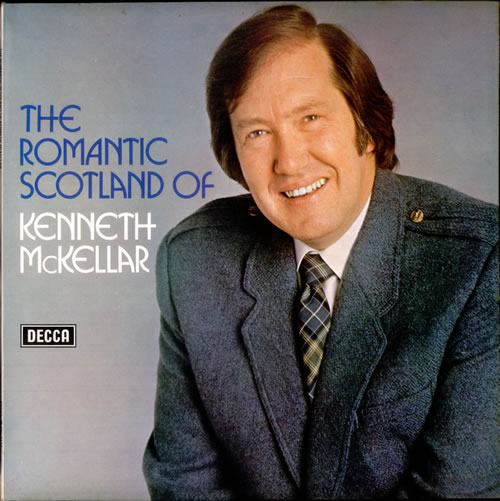 Kenneth McKellar The Romantic Scotland Of Kenneth McKellar vinyl LP album (LP record) UK KEKLPTH521090