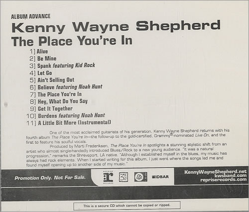 Ass kenny wayne shepherd spank ass under the