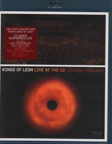 Kings Of Leon Live At The O2 London, England Blu Ray DVD UK KOLBRLI488410