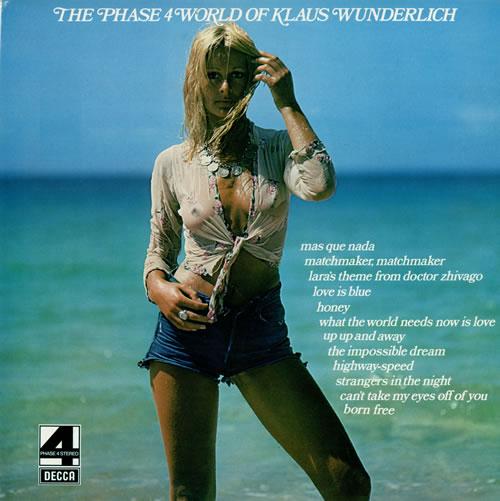 Klaus Wunderlich The Phase 4 World Of Klaus Wunderlich vinyl LP album (LP record) UK KWCLPTH478246