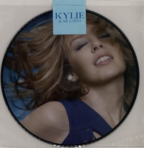 "Kylie Minogue All The Lovers - Sticker Sealed 7"" vinyl picture disc 7 inch picture disc single UK KYL7PAL510141"