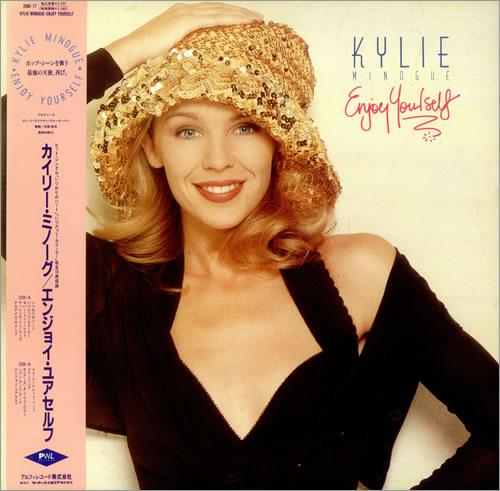 Kylie Minogue Enjoy Yourself vinyl LP album (LP record) Japanese KYLLPEN349446
