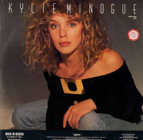 "Kylie Minogue I Still Love You - Promo Stickered 12"" vinyl single (12 inch record / Maxi-single) Australian KYL12IS556197"