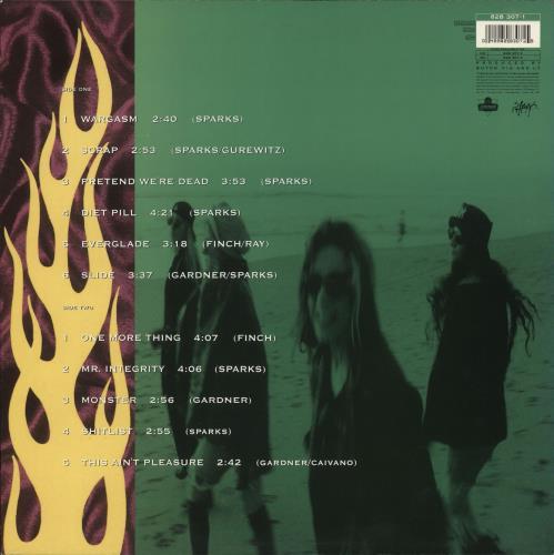 L7 Bricks Are Heavy - EX vinyl LP album (LP record) UK L-7LPBR707823