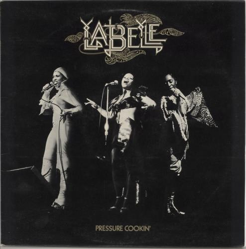 Labelle Pressure Cookin' vinyl LP album (LP record) UK LBLLPPR724983