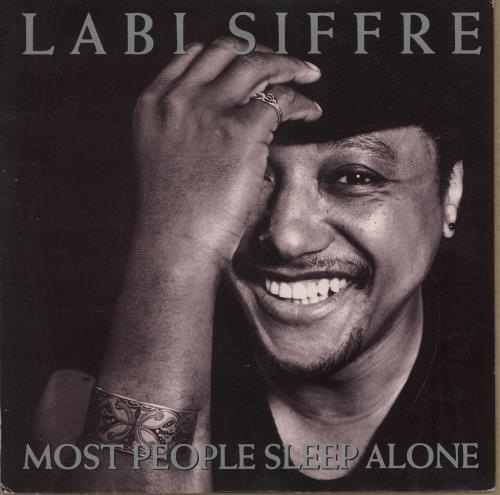 "Labi Siffre Most People Sleep Alone 7"" vinyl single (7 inch record) UK SIF07MO700027"