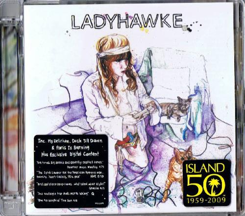 Ladyhawke Ladyhawke CD album (CDLP) UK LHKCDLA446473