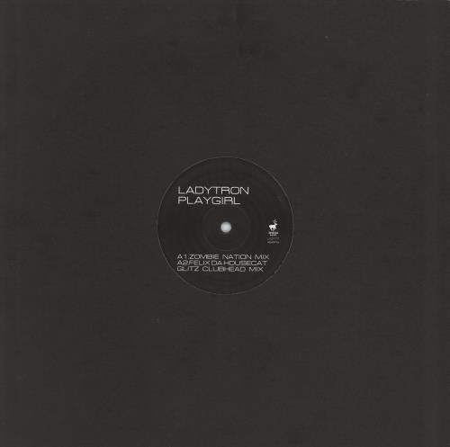 "Ladytron Play Girl 12"" vinyl single (12 inch record / Maxi-single) UK LYR12PL772382"