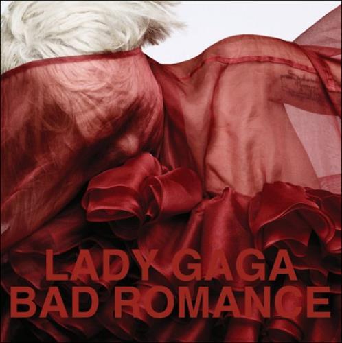 """Lady Gaga Bad Romance CD single (CD5 / 5"""") UK LGQC5BA489958"""