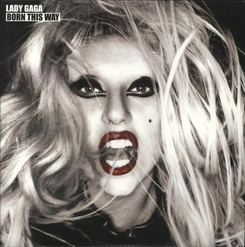 Lady Gaga Born This Way - 180gm US 2-LP vinyl record set (Double