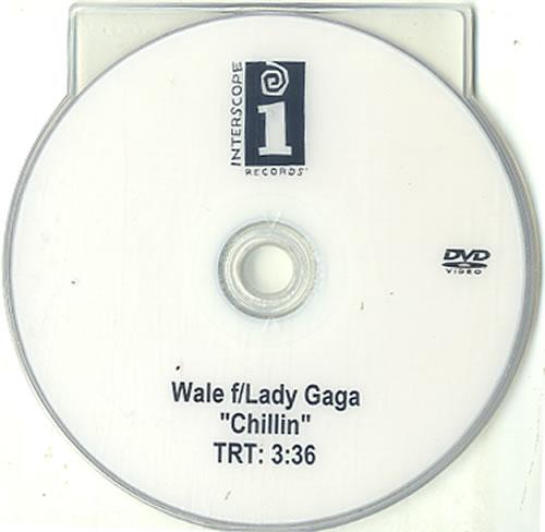 Lady Gaga Chillin promo DVD-R US LGQDRCH626553
