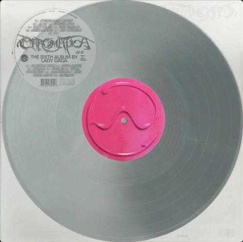 Lady Gaga Chromatica - Silver Vinyl vinyl LP album (LP record) UK LGQLPCH746129