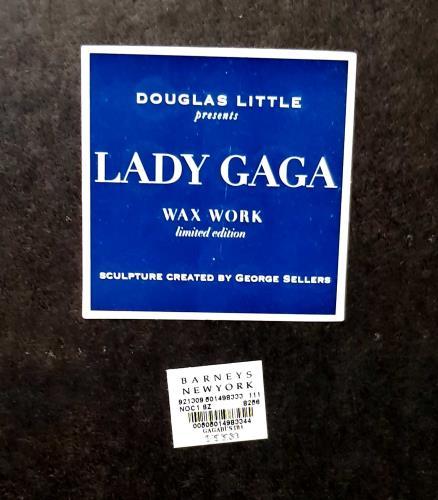 Lady Gaga Douglas Little Gaga Wax Bust Candle - Plum memorabilia US LGQMMDO693972