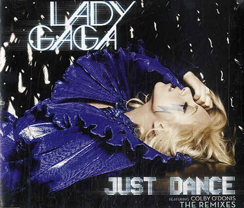 "Lady Gaga Just Dance CD single (CD5 / 5"") UK LGQC5JU626514"