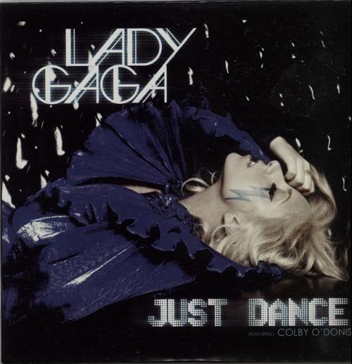 "Lady Gaga Just Dance CD single (CD5 / 5"") French LGQC5JU626569"