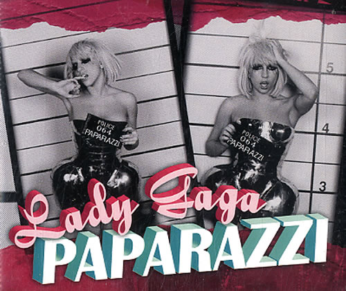 """Lady Gaga Paparazzi CD single (CD5 / 5"""") UK LGQC5PA626501"""