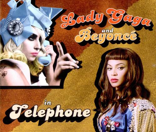 "Lady Gaga Telephone CD single (CD5 / 5"") UK LGQC5TE500275"