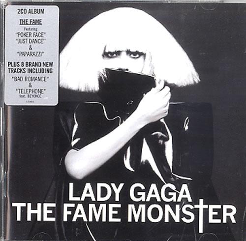 Lady Gaga The Fame Monster 2 CD album set (Double CD) UK LGQ2CTH489995