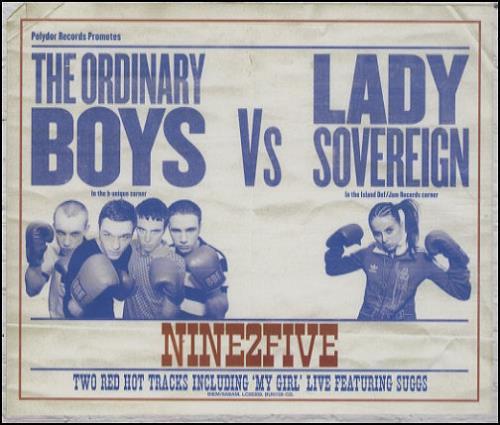 "Lady Sovereign Nine2Five CD single (CD5 / 5"") UK LDVC5NI409826"