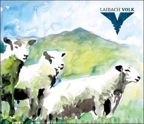 Laibach Volk CD album (CDLP) UK IBACDVO376815
