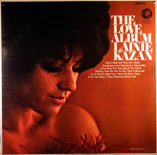 Lainie Kazan The Love Album UK vinyl LP album (LP record