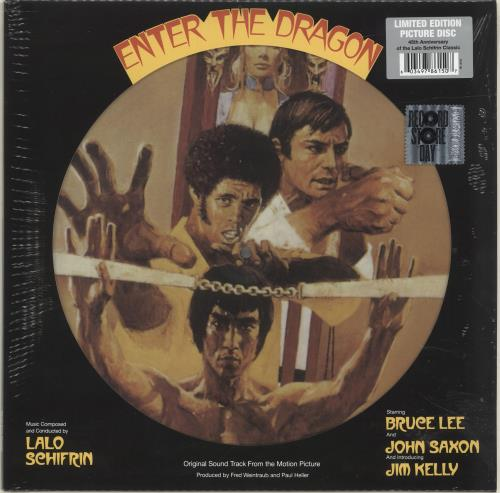 Lalo Schifrin Enter The Dragon - RSD18 - Sealed picture disc LP (vinyl picture disc album) UK LALPDEN694966