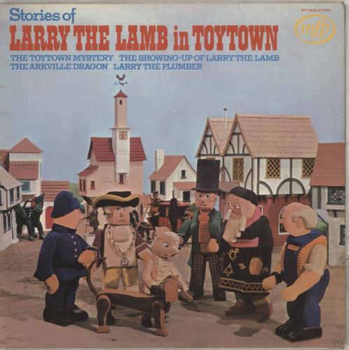 Larry The Lamb Larry The Lamb In Toytown vinyl LP album (LP record) UK Y9ULPLA711776