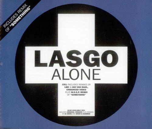 """Lasgo Alone CD single (CD5 / 5"""") UK LSOC5AL279068"""
