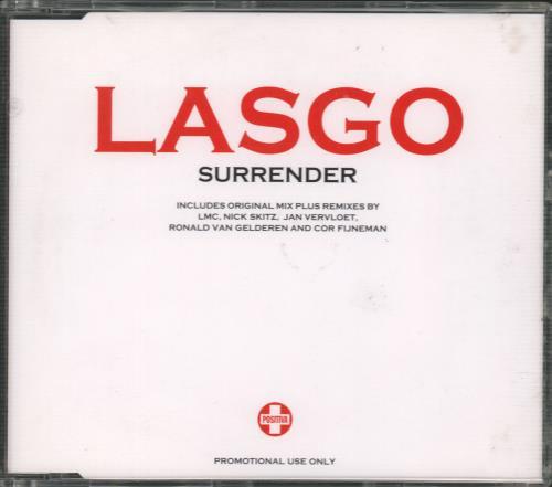 "Lasgo Surrender CD single (CD5 / 5"") UK LSOC5SU669544"