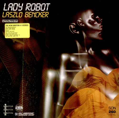 Laszlo Bencker Lady Robot + Underscores, Jingles 2-LP vinyl record set (Double Album) German LYU2LLA516411