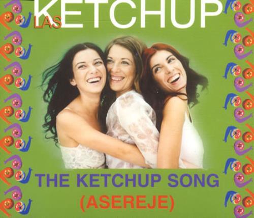 """Las Ketchup The Ketchup Song (Asereje) CD single (CD5 / 5"""") European LKCC5TH505632"""