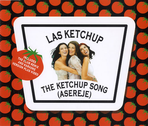 Las Ketchup The Ketchup Song (Asereje) UK CD single (CD5 / 5