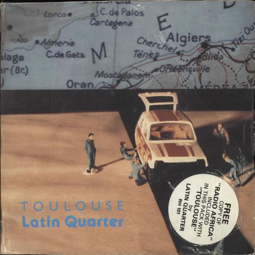 "Latin Quarter Toulouse / Radio Africa - Double pack 7"" vinyl single (7 inch record) UK LTQ07TO710978"
