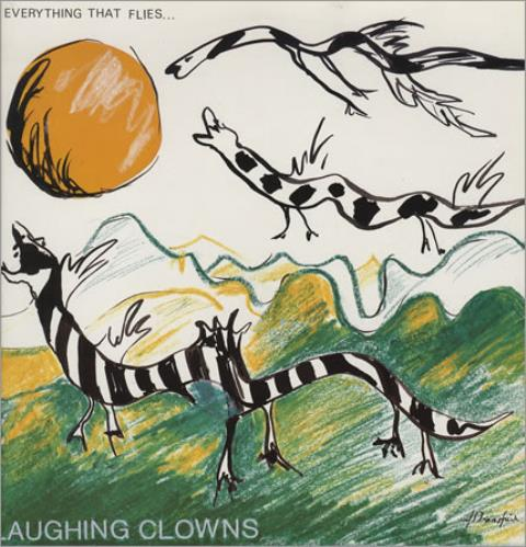 "Laughing Clowns Everything That Flies... 12"" vinyl single (12 inch record / Maxi-single) Australian LB812EV306774"