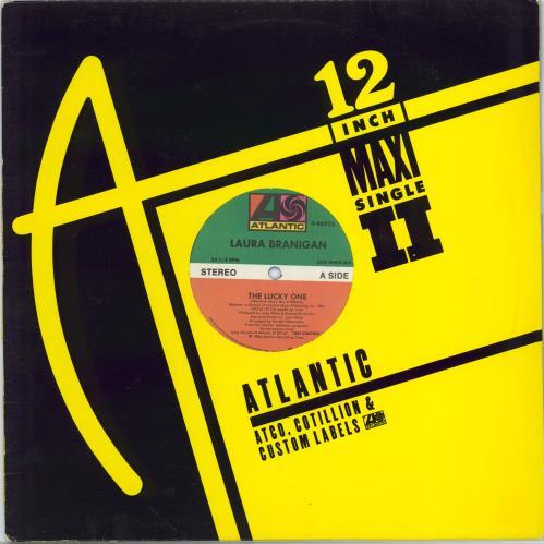 "Laura Branigan The Lucky One 12"" vinyl single (12 inch record / Maxi-single) US BRA12TH71352"
