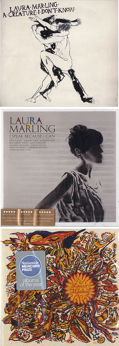 Laura Marling A Quantity Of CD Albums 4-CD album set UK LML4CAQ630756