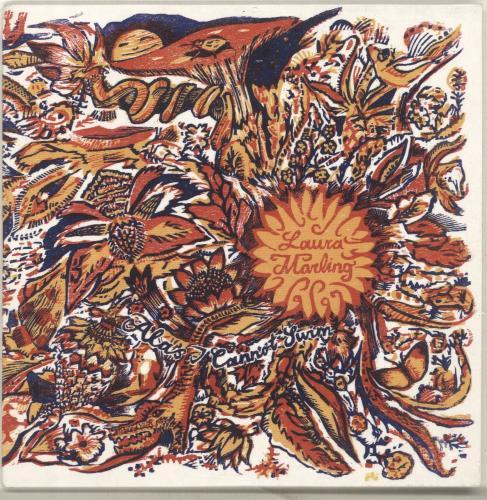 Laura Marling Alas, I Cannot Swim + Press Release CD album (CDLP) UK LMLCDAL697318