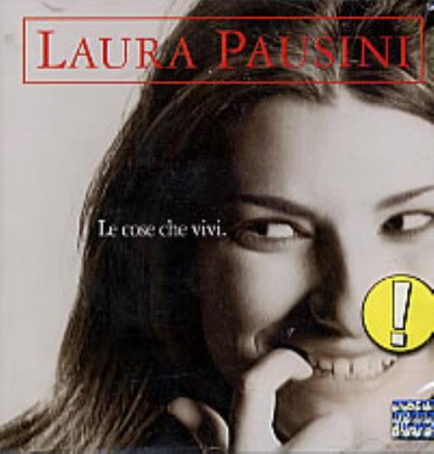 Laura Pausini Le Cose Che Vivi CD album (CDLP) Brazilian LUPCDLE231977